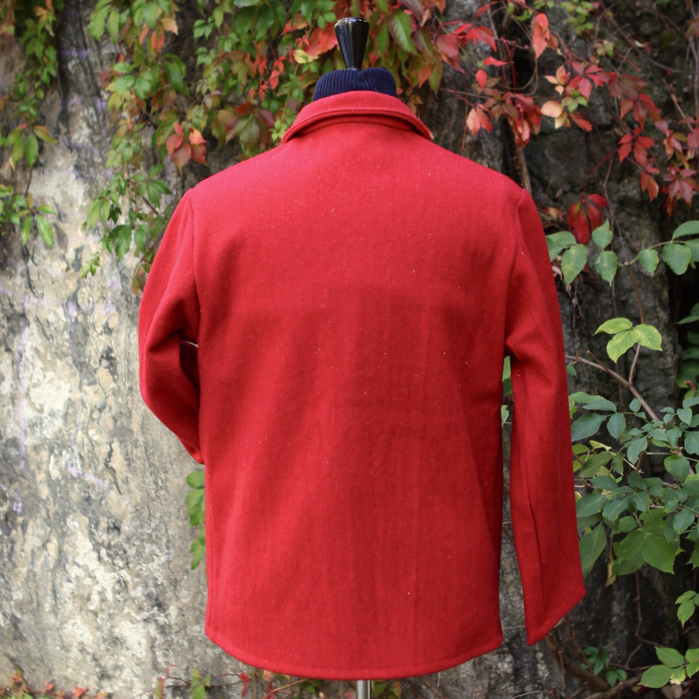 Le Laboureur Woolen Jacket RED