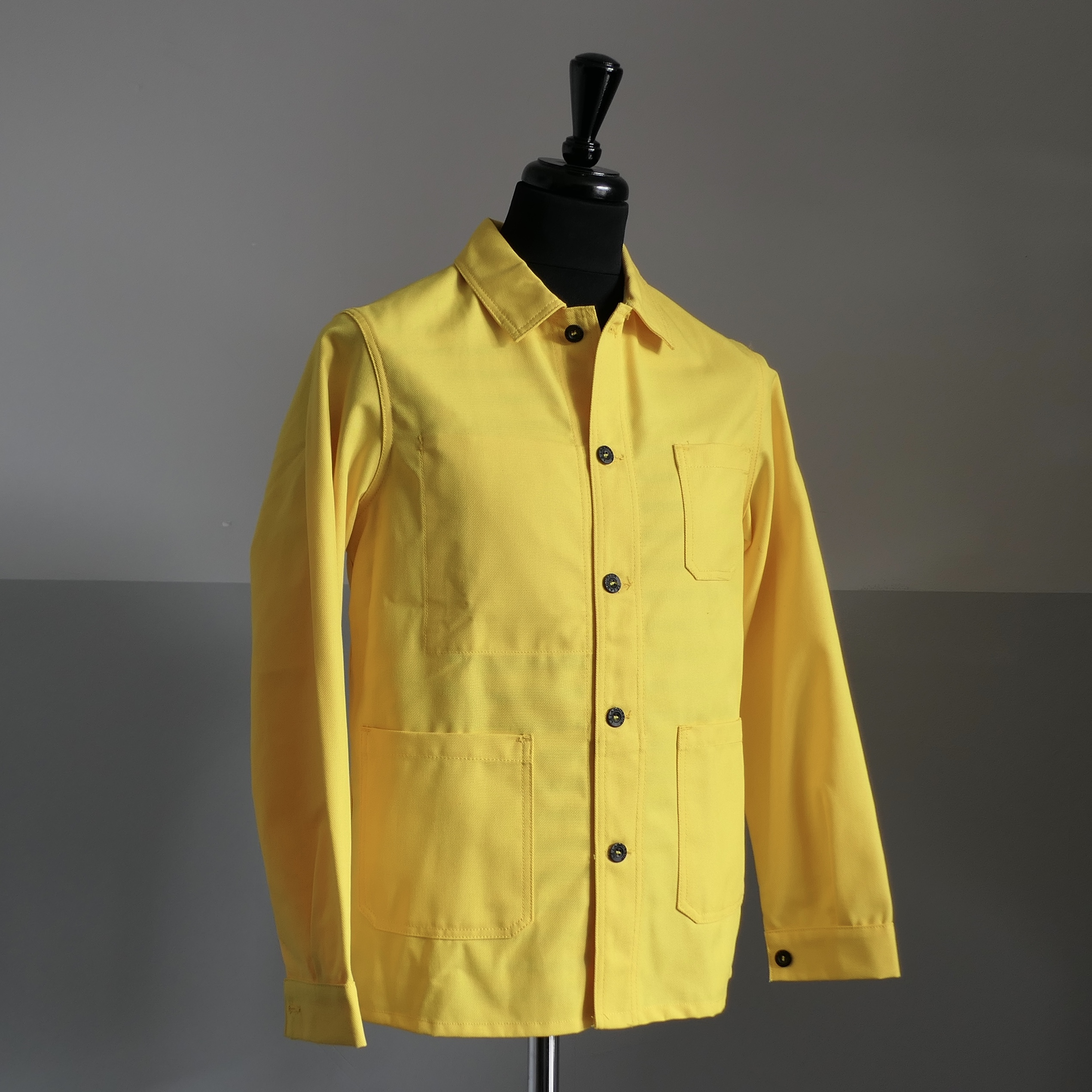 Worker's Overshirt - Yellow