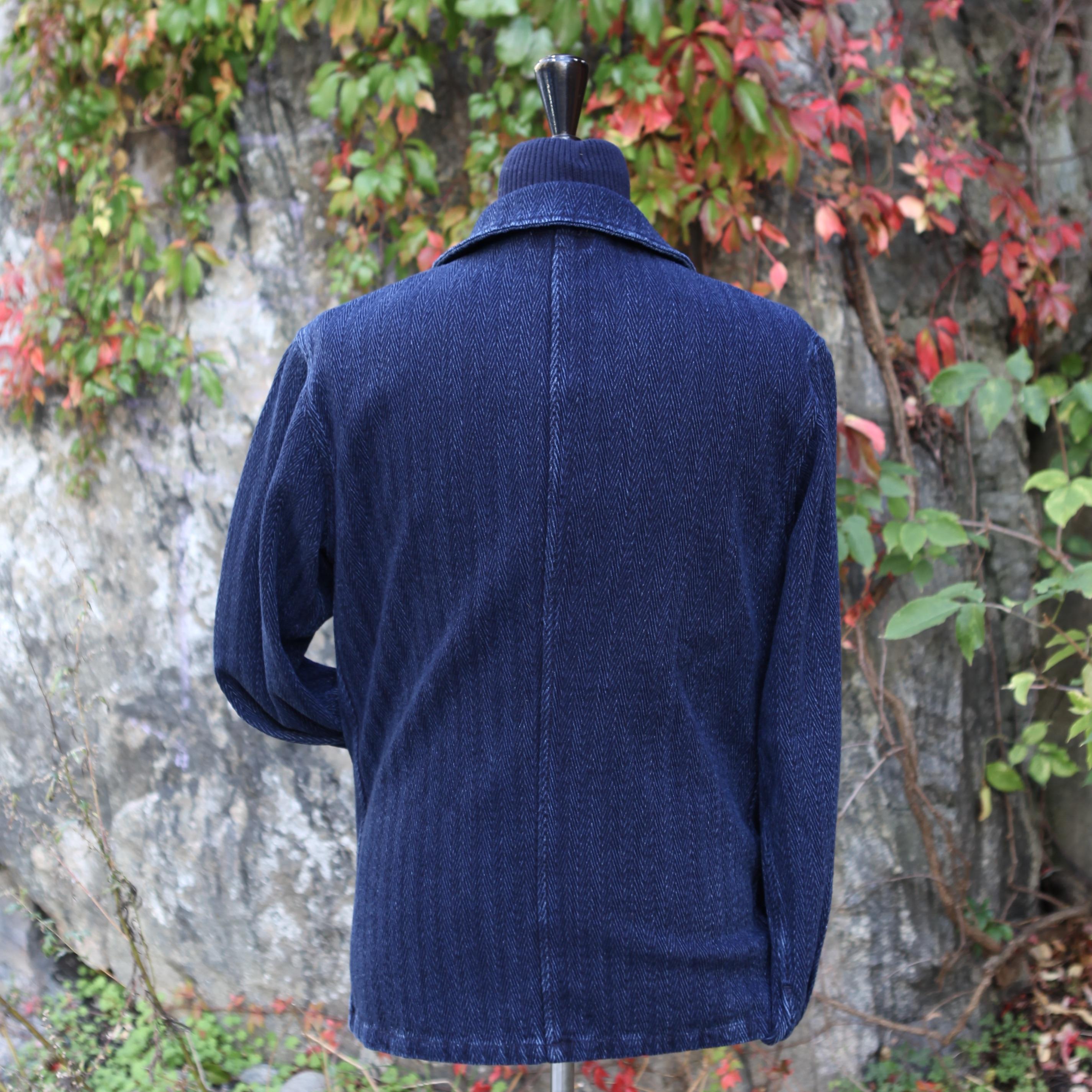 HBT 14oz Sashiko Indigo Jacket