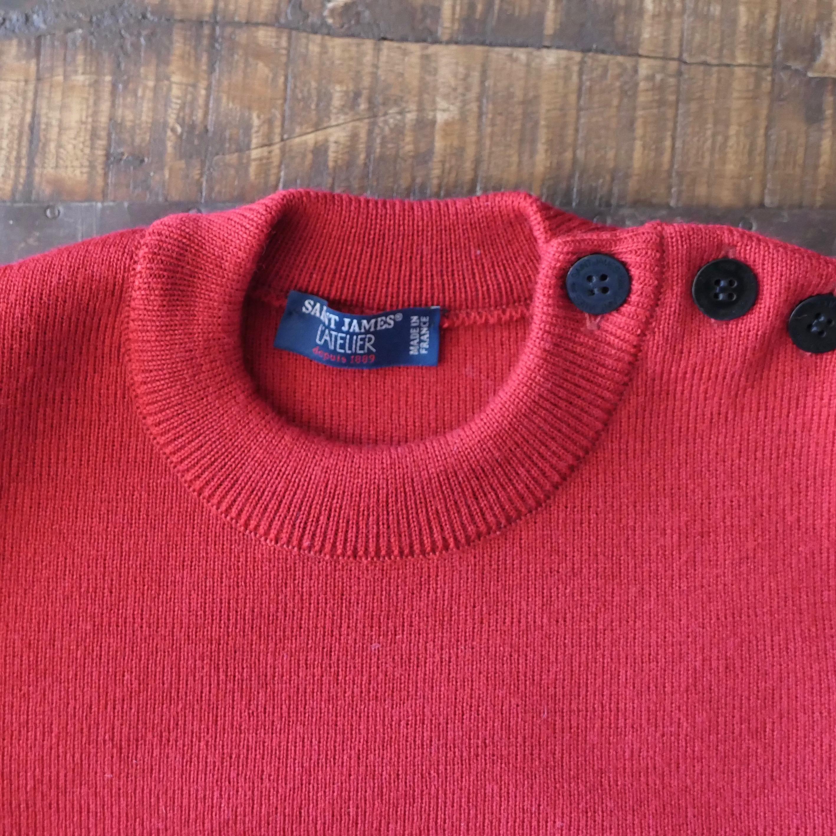 Marinier Wool Sweater Red