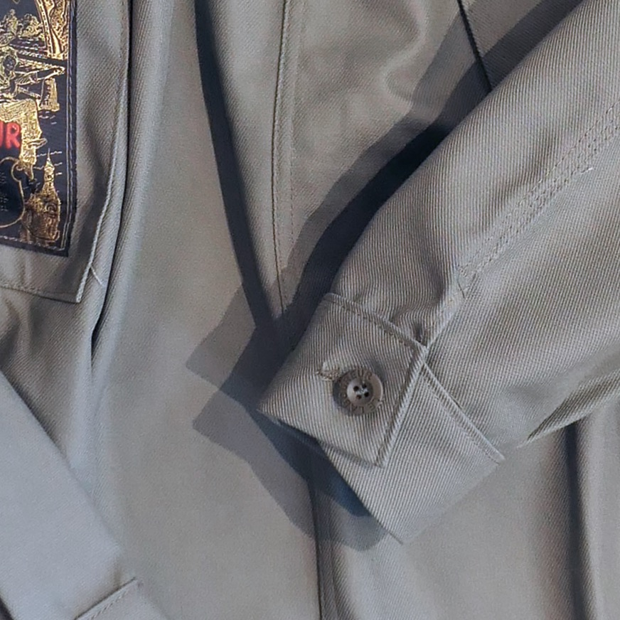 Le Laboureur Worker's Overshirt - Kaki