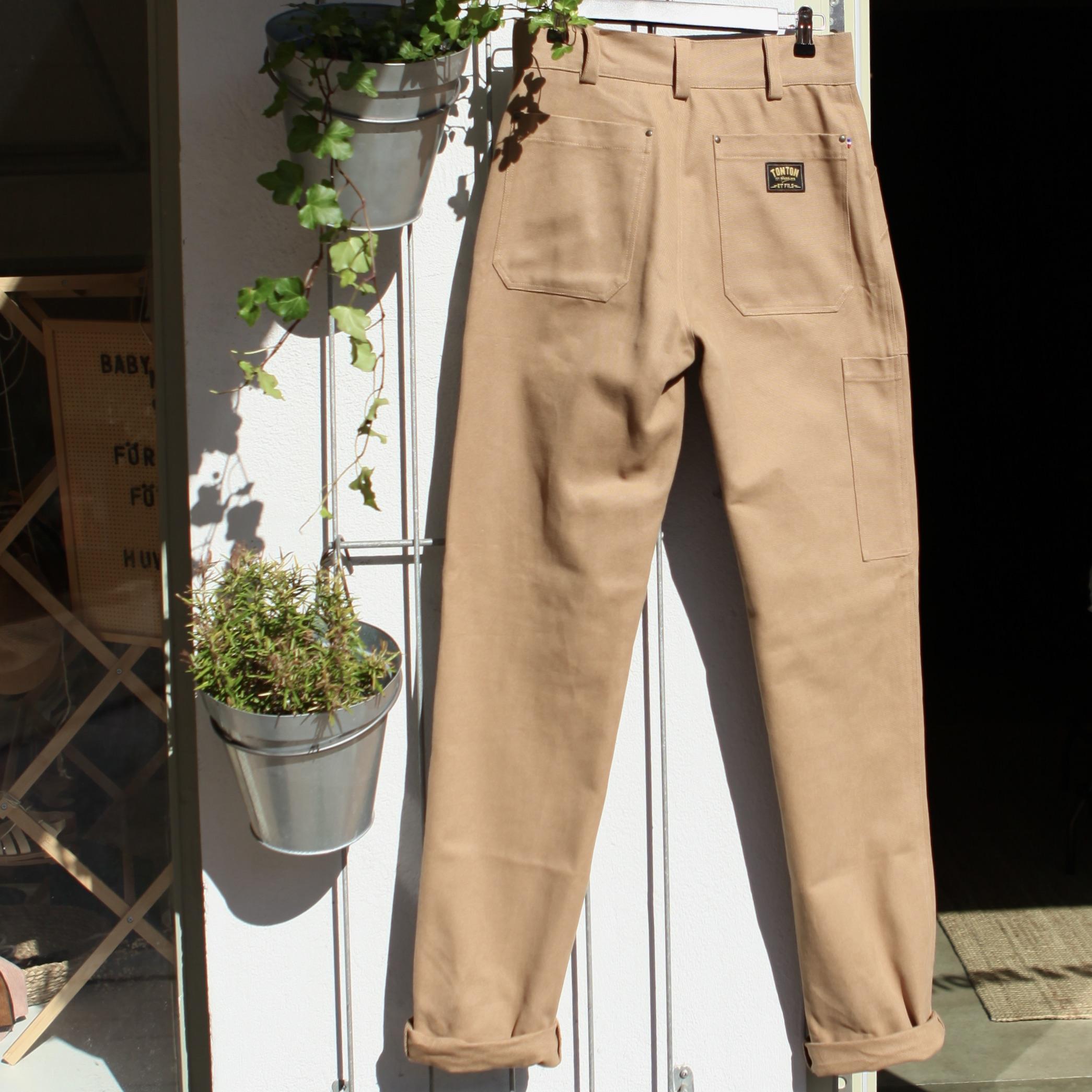 Deck Pants Heavy Canvas Light Tan