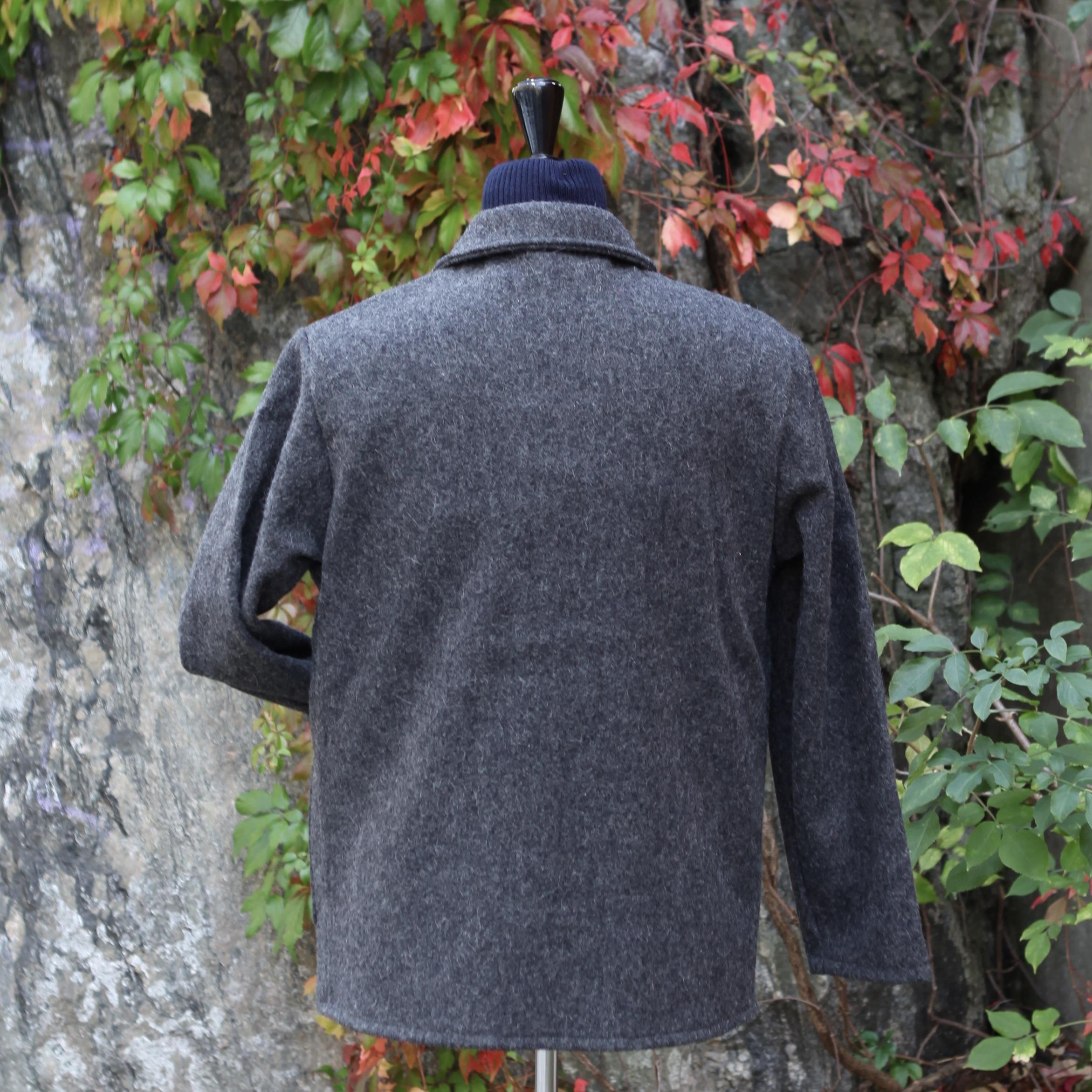 Le Laboureur Woolen Jacket DARK