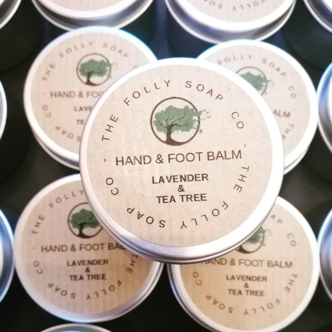 Hand & Foot Balm - Lavender & Tea Tree