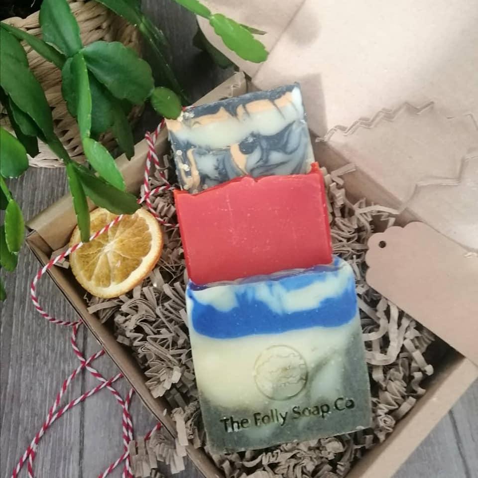 Luxury Soap Trio