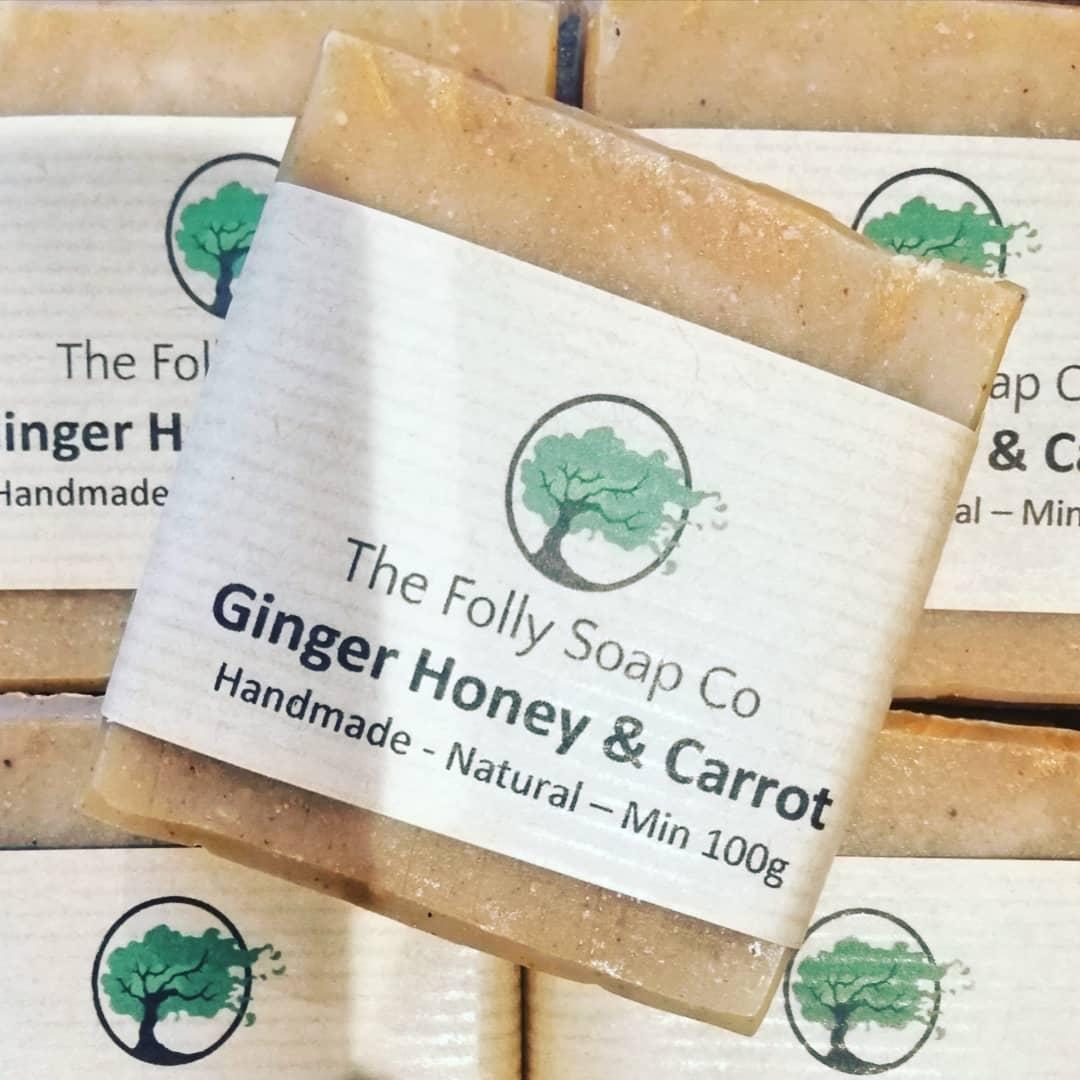 Carrot Honey & Ginger Soap