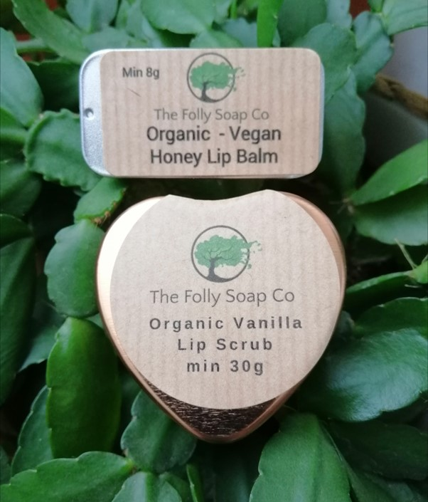 Mini Organic - Vegan Lip Care Pamper set