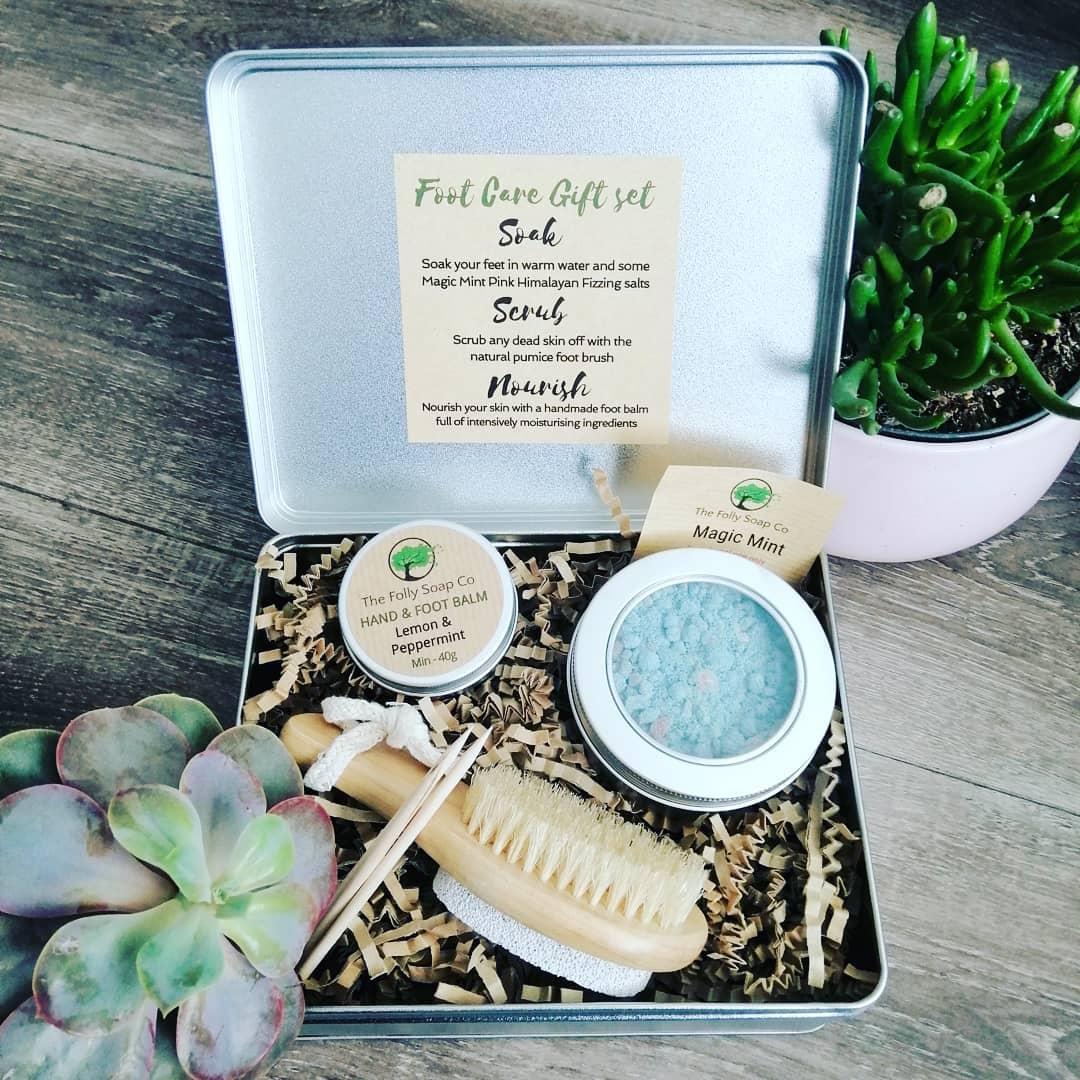 Magic Mint - Foot Care Gift Set