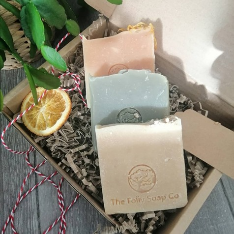 Soothing Soap Trio