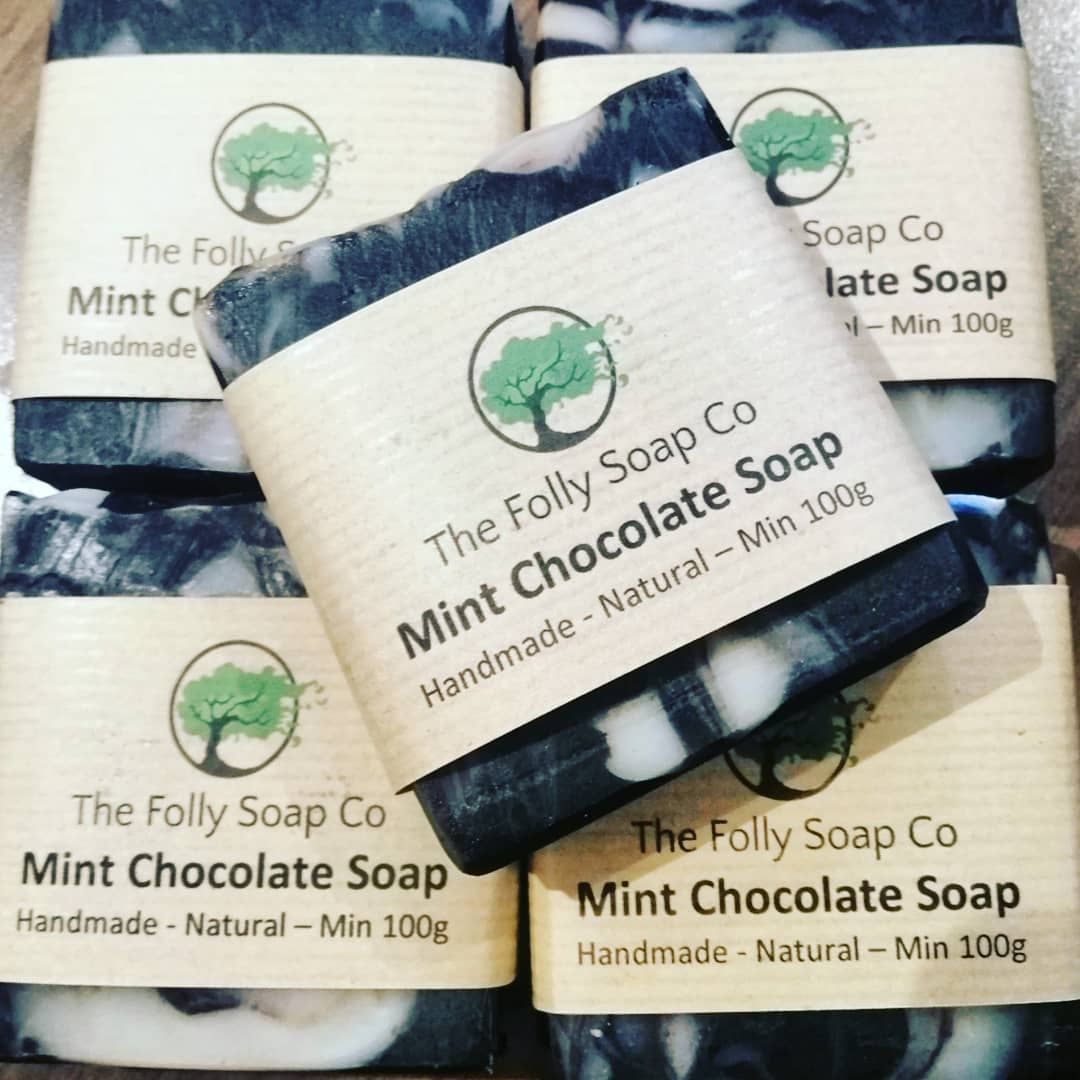 Mint Chocolate Cold Process Soap