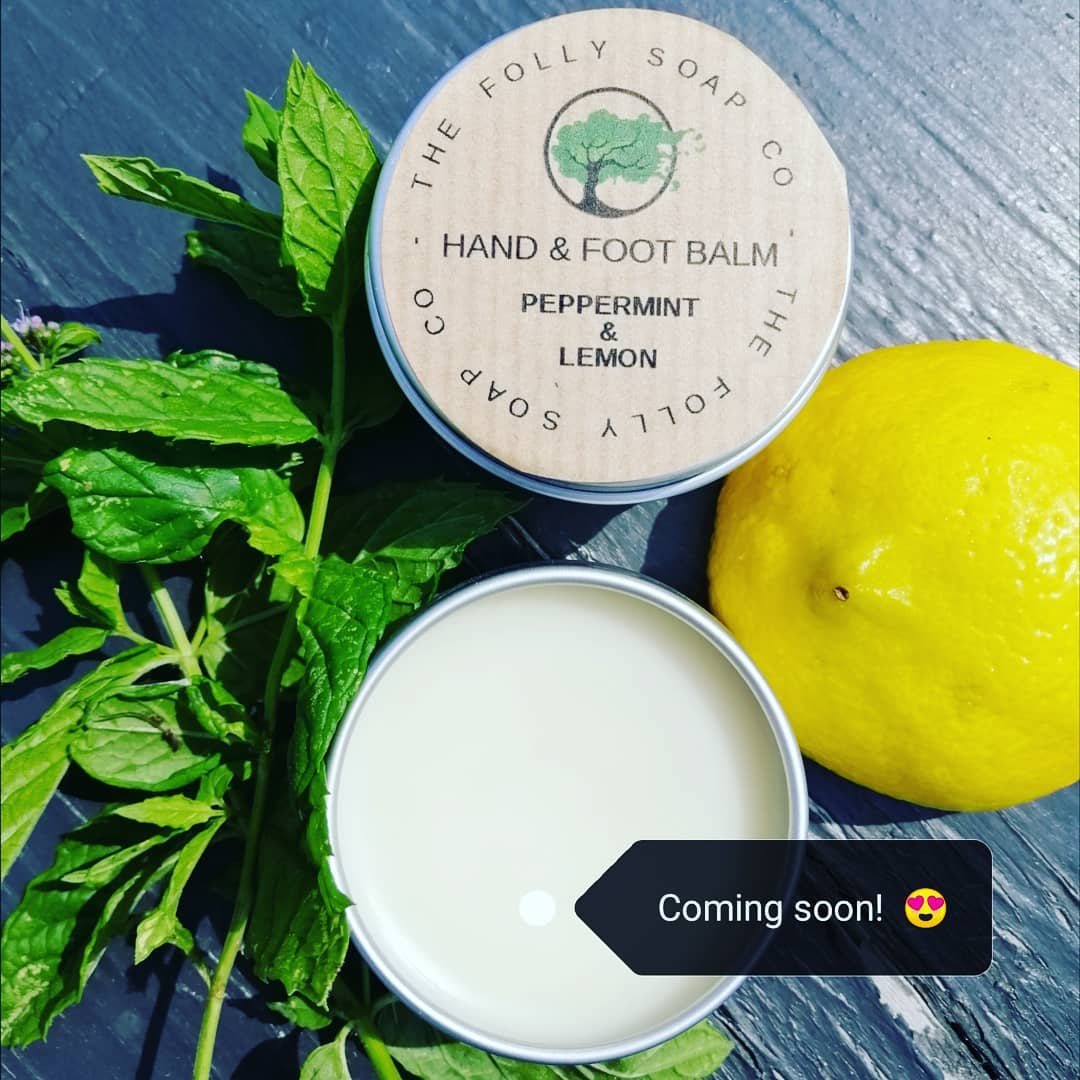 Hand & Foot Balm - Peppermint & Lemon