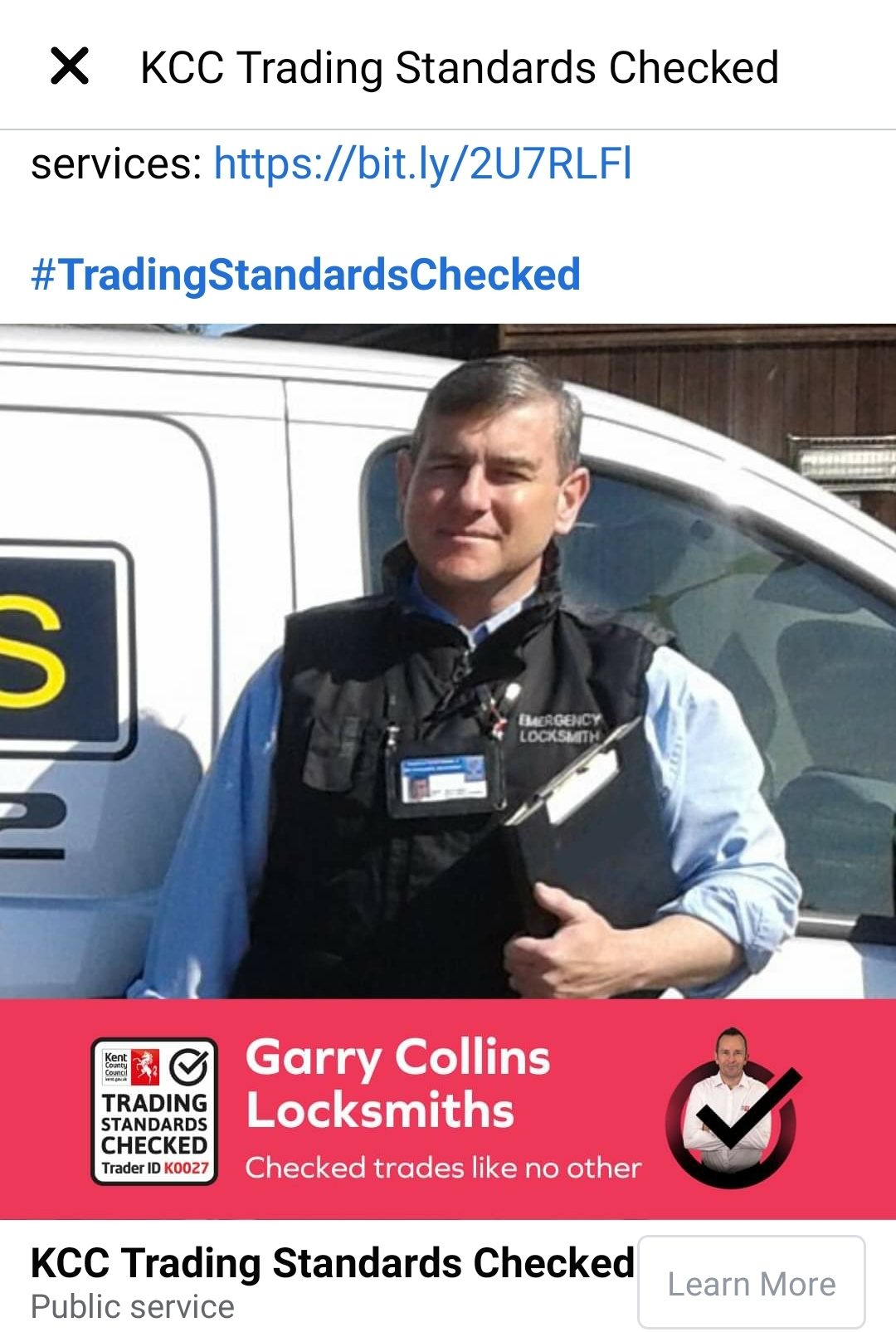 Garry Collins Locksmiths