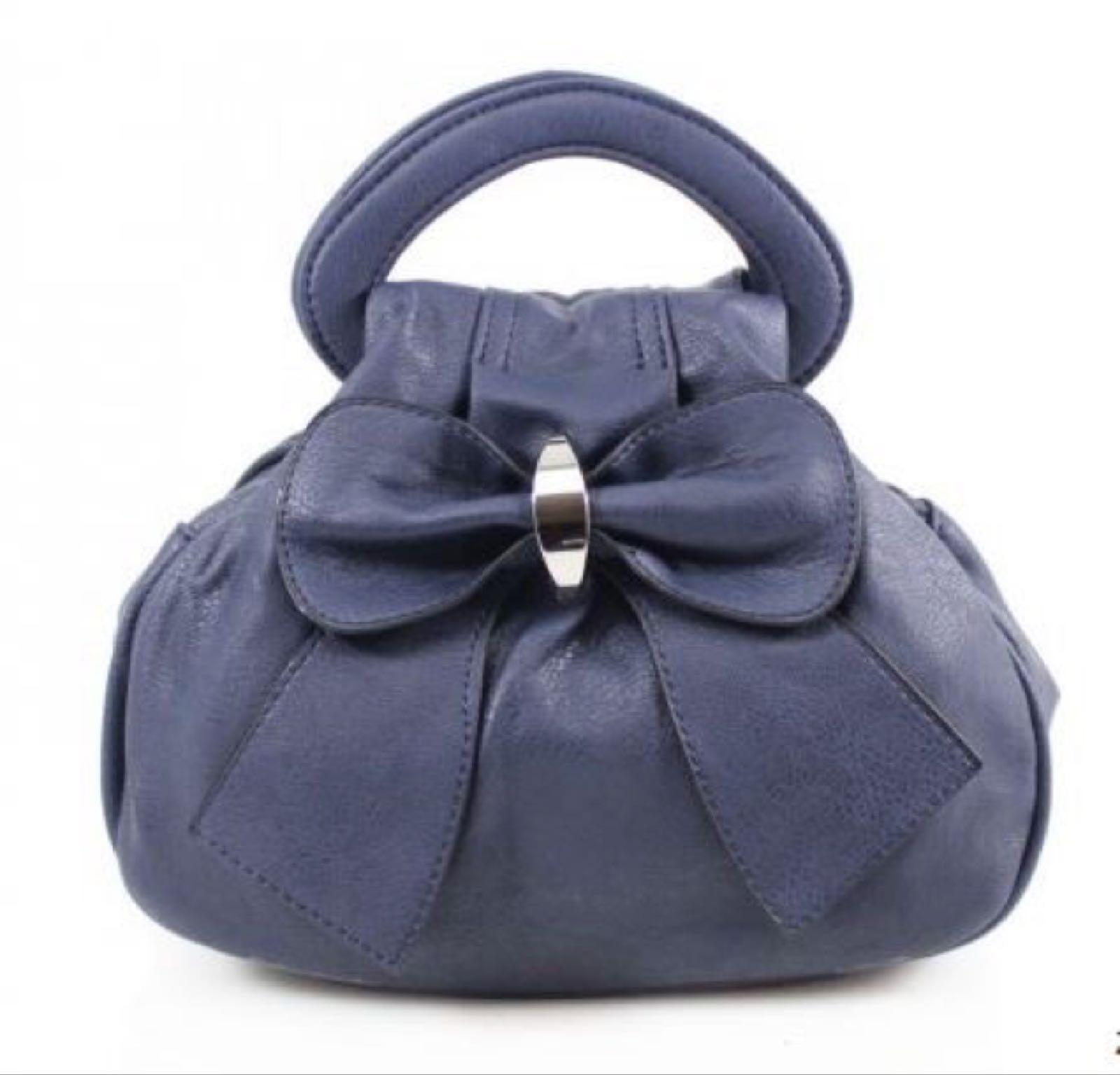 Bow Bag - Navy