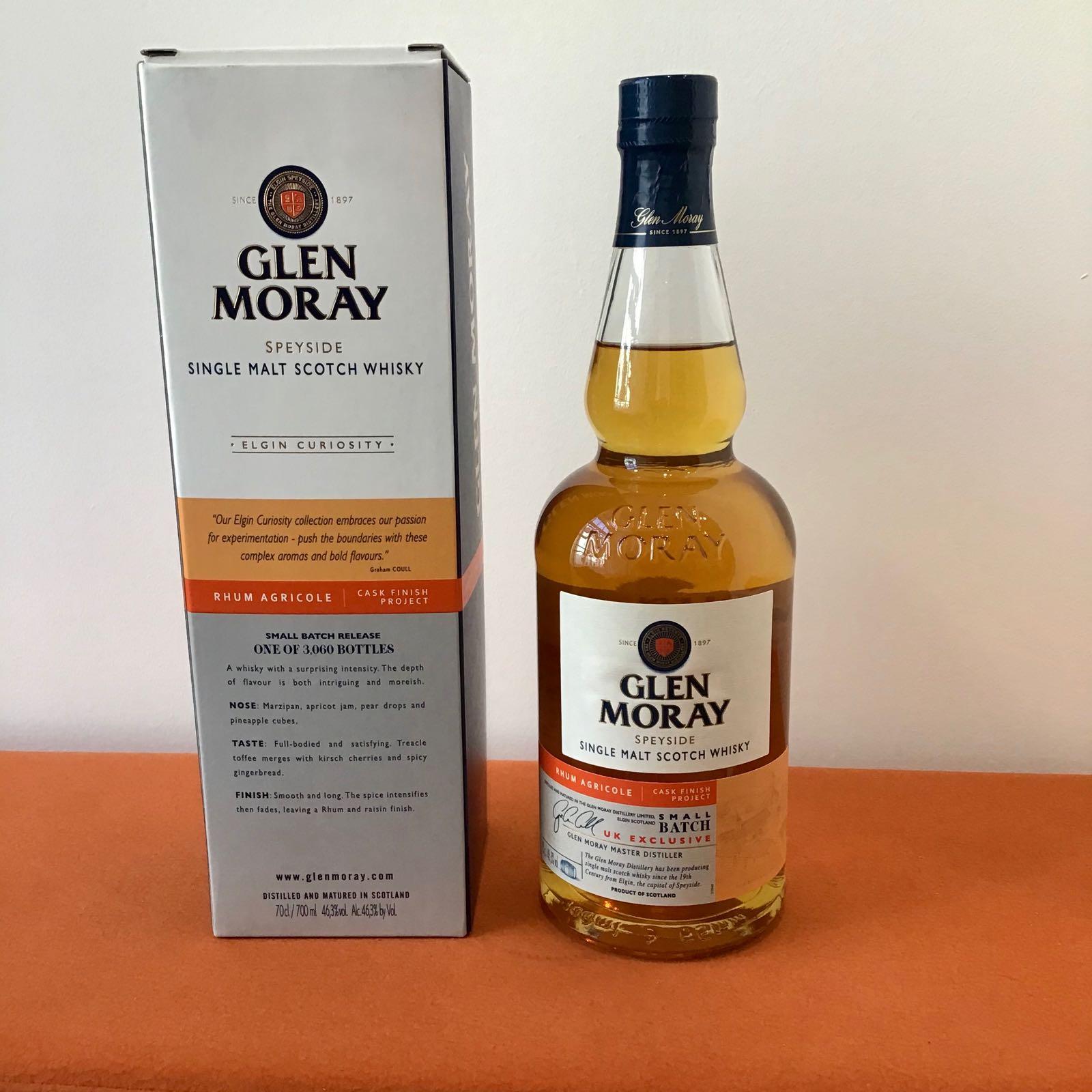 Glen Moray Rhum Agricole