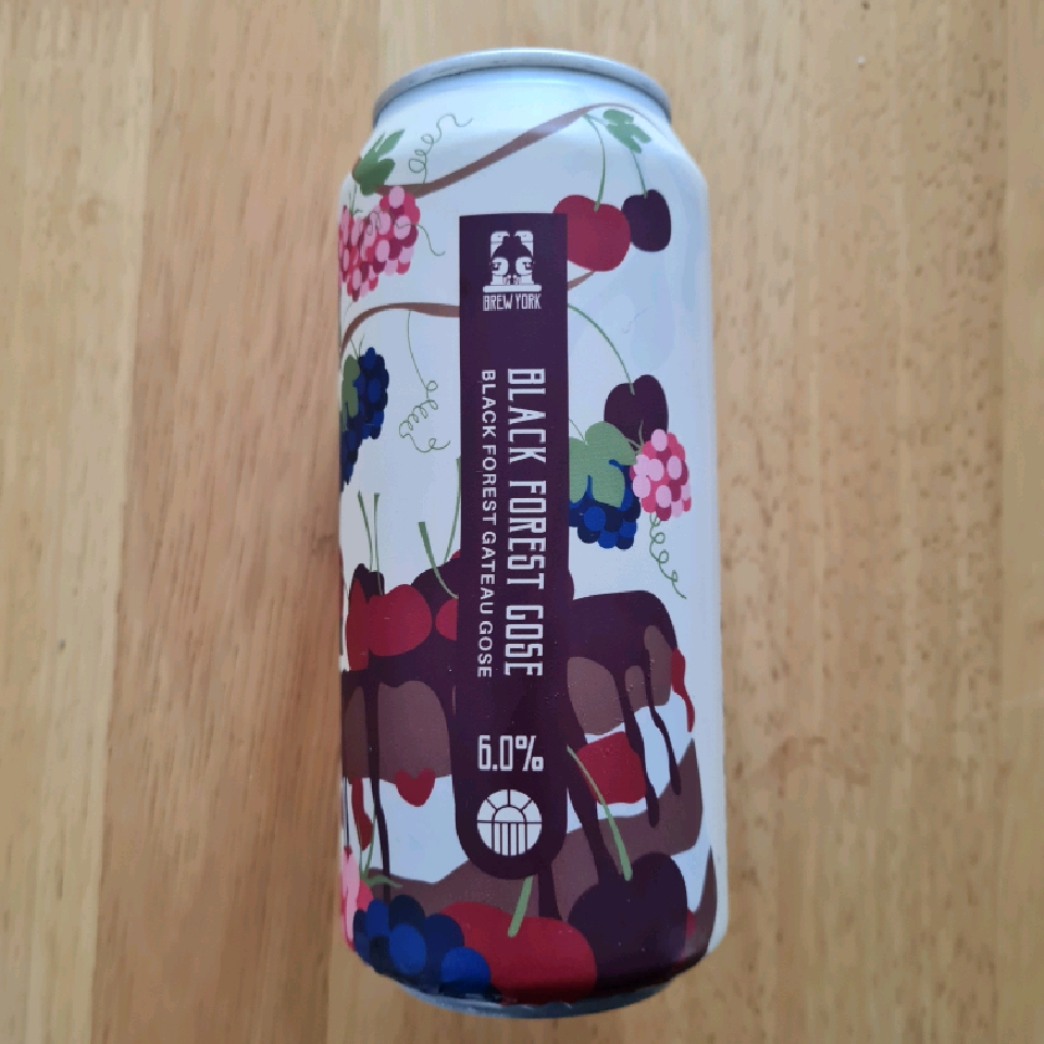 Brew York Black Forest Gose