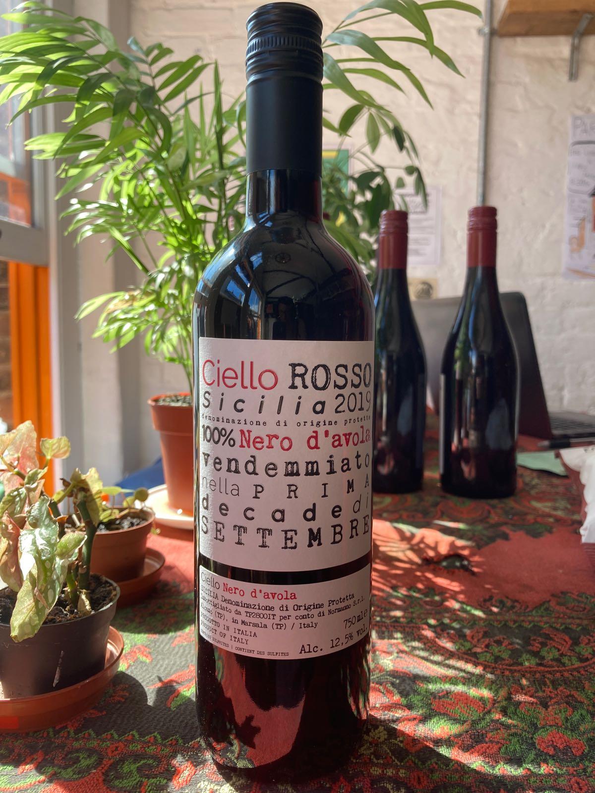 Ciello Rosso - Nero d'Avola (12.5%) (Sicily)