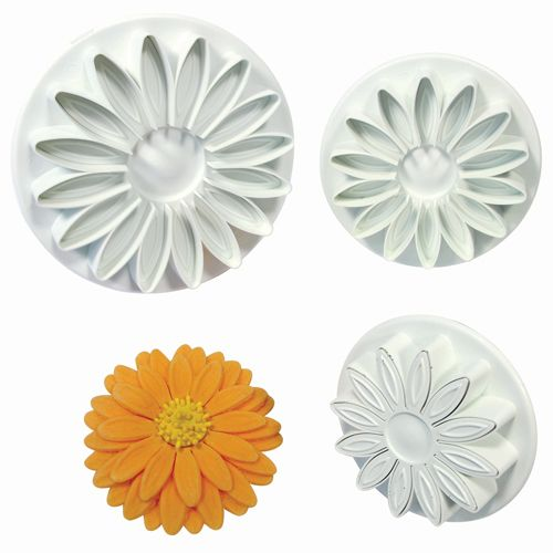 Sunflower/Daisy/Gerbera Plunger Cutter set/3