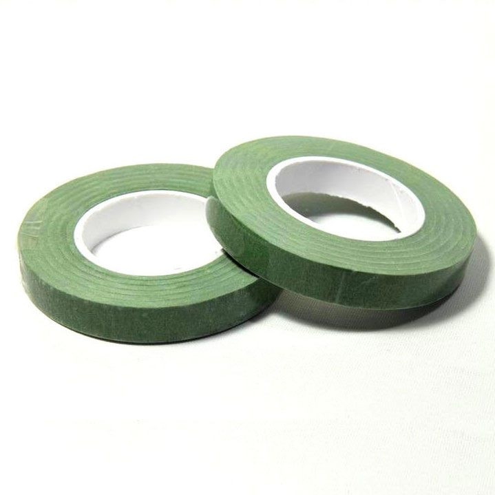 Dekofee Floral Tape -Middle Green- 12mm
