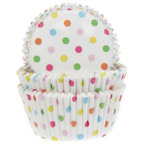 House of Marie Baking Cups Confetti pk/5015