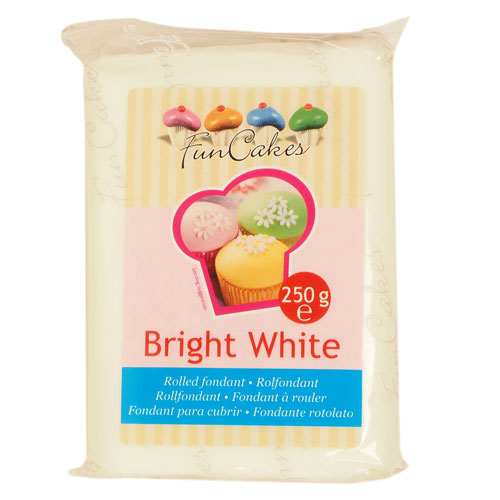 FunCakes Bright White