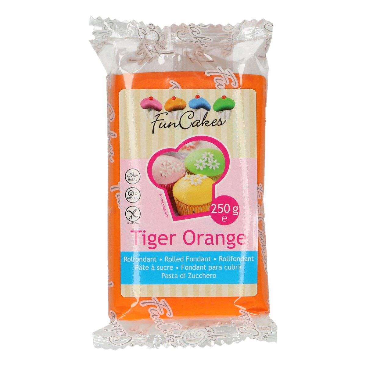 FunCakes Tiger Orange