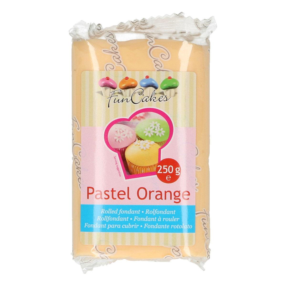FunCakes Pastel Orange