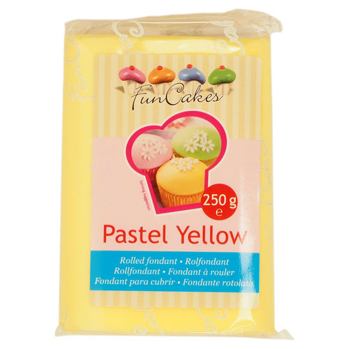 FunCakes Pastel Yellow
