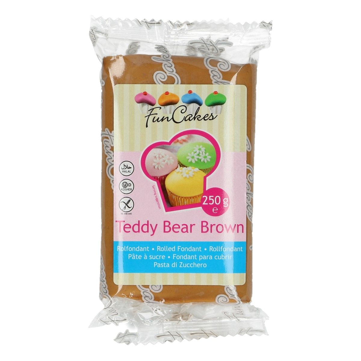 FunCakes Teddy Bear Brown