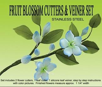 Fruit Blossom Veiner Set
