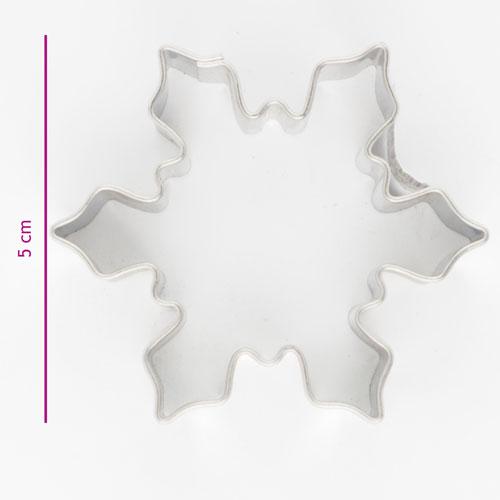 Kakutstickare Snöflinga 5cm