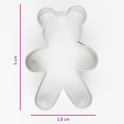 Kakutstickare Nalle 5cm
