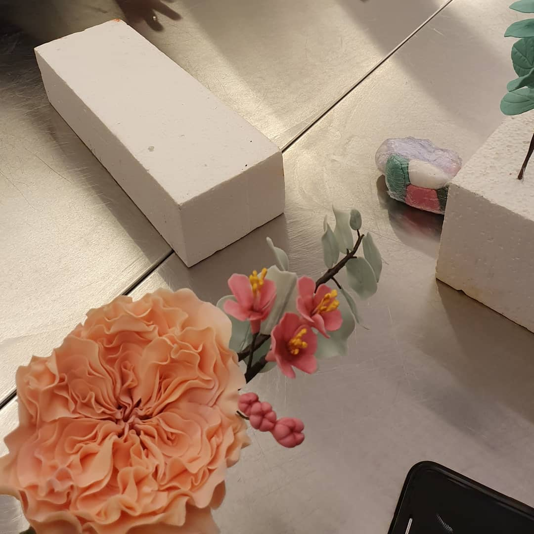 2021-10-02 kurs trådade blommor