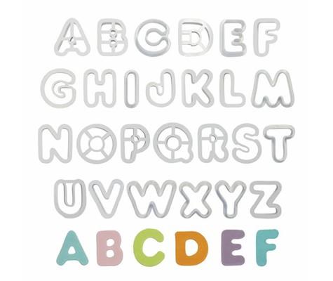 Alphabet Cutter Set Of 26