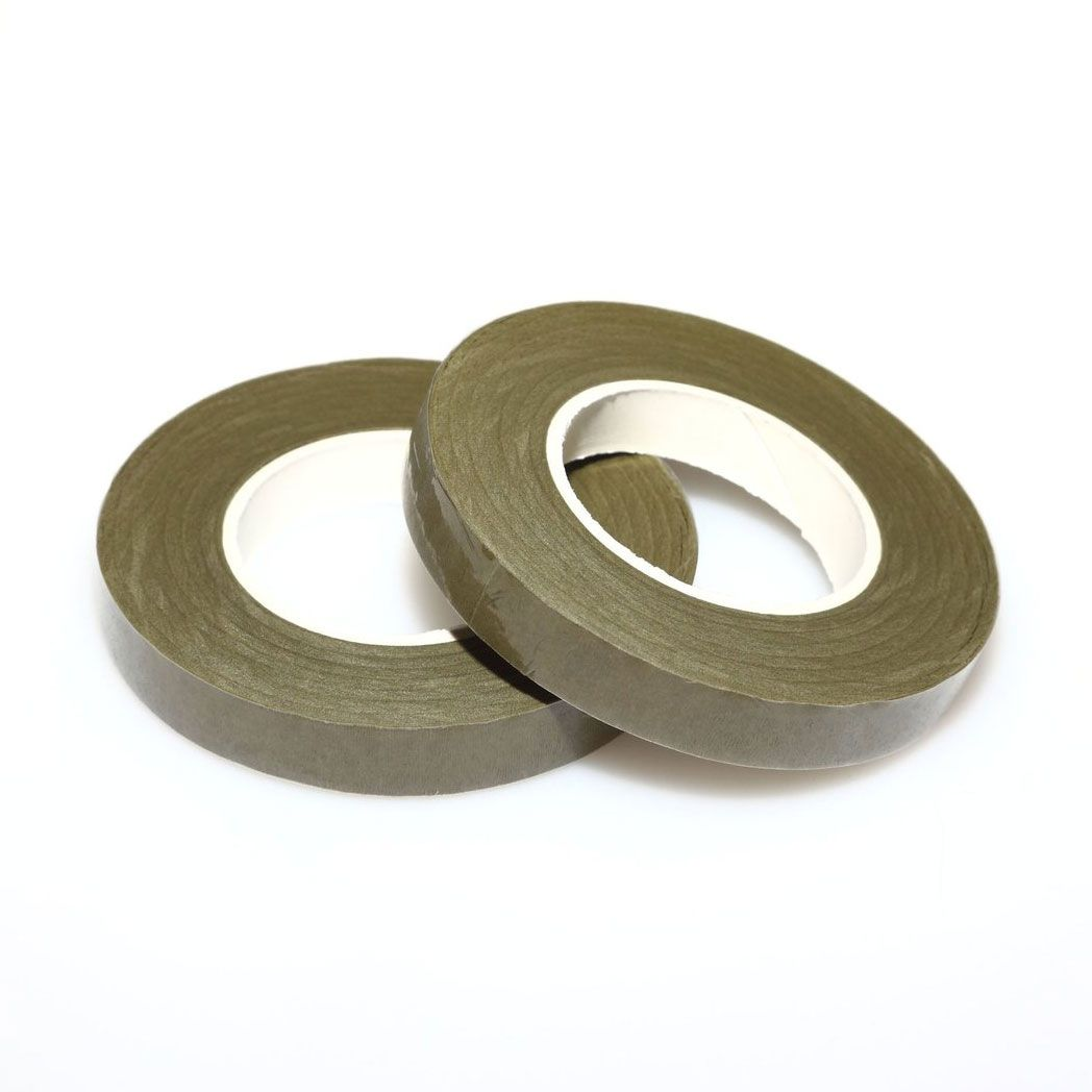 Dekofee Floral Tape -Moss Green- 12mm