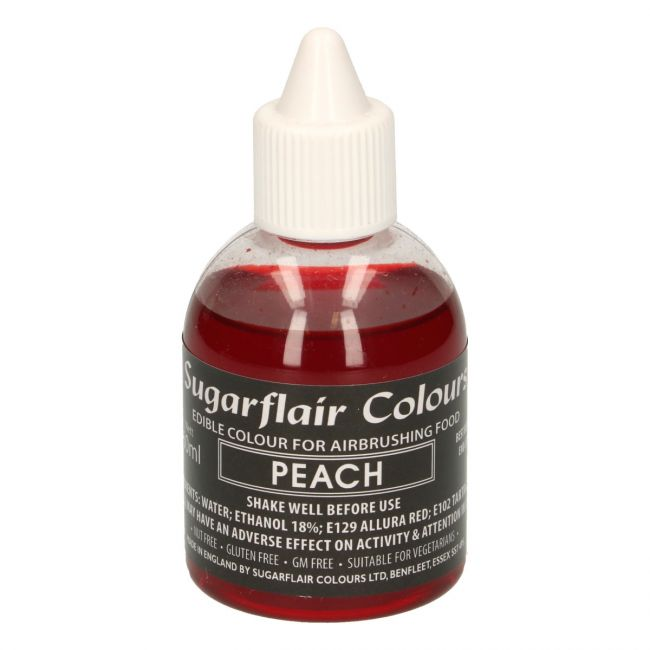 SUGARFLAIR AIRBRUSH COLOURING -PEACH