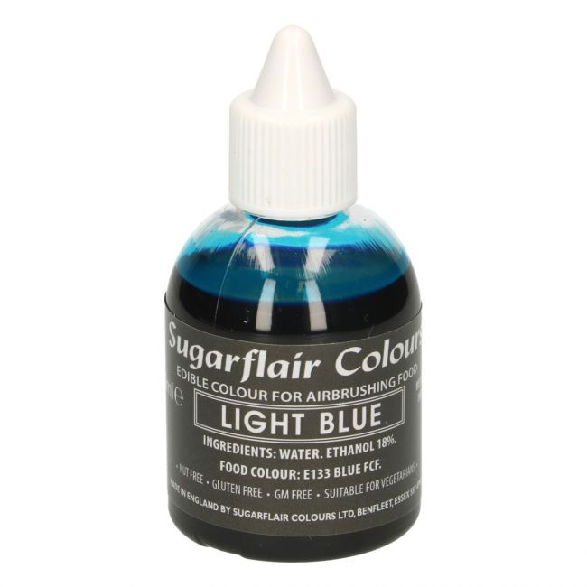 SUGARFLAIR AIRBRUSH COLOURING -LIGHT BLUE