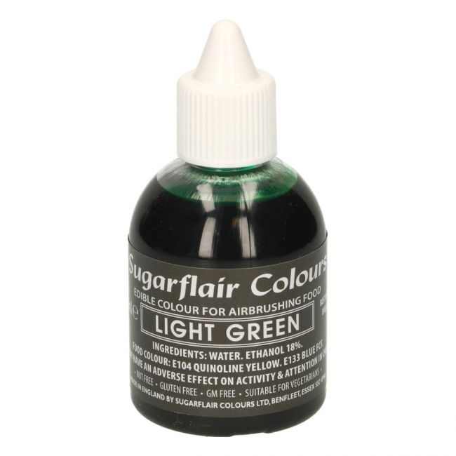 SUGARFLAIR AIRBRUSH COLOURING -LIGHT GREEN