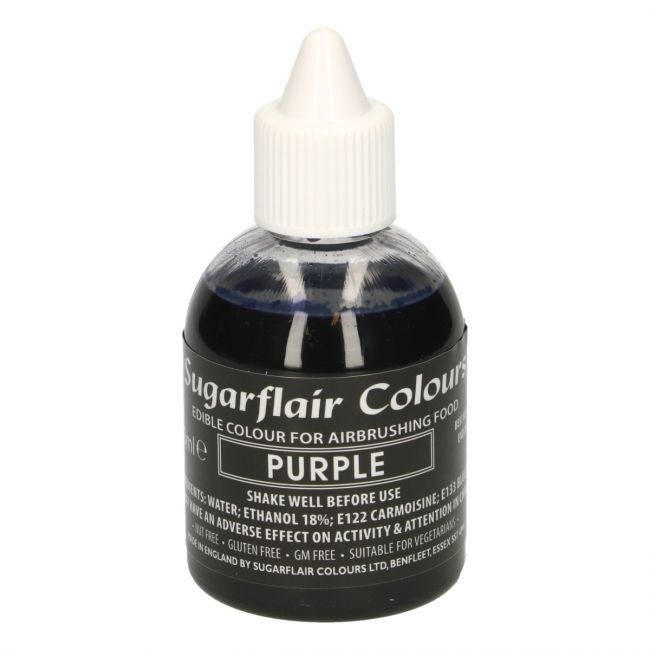 SUGARFLAIR AIRBRUSH COLOURING -PURPLE