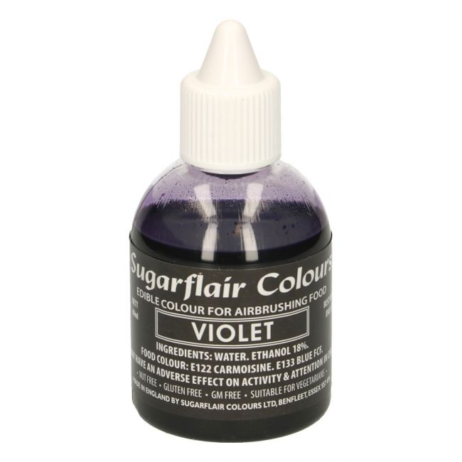 SUGARFLAIR AIRBRUSH COLOURING -VIOLET