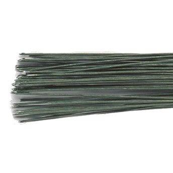 CULPITT FLORAL WIRE DARK GREEN SET/50 -28 GAUGE-