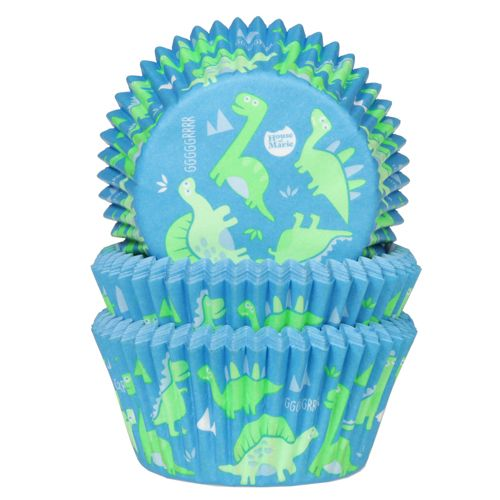 House of Marie baking cups Dinosaur