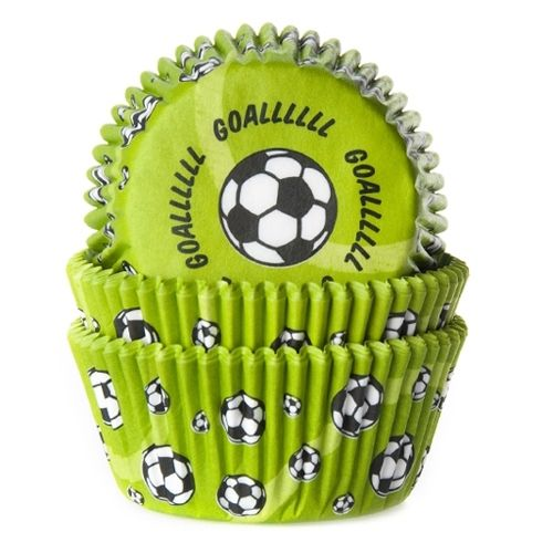 House of Marie Baking Cups Football
