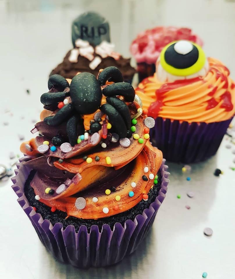 2020-10-31 Halloween Cupcakes