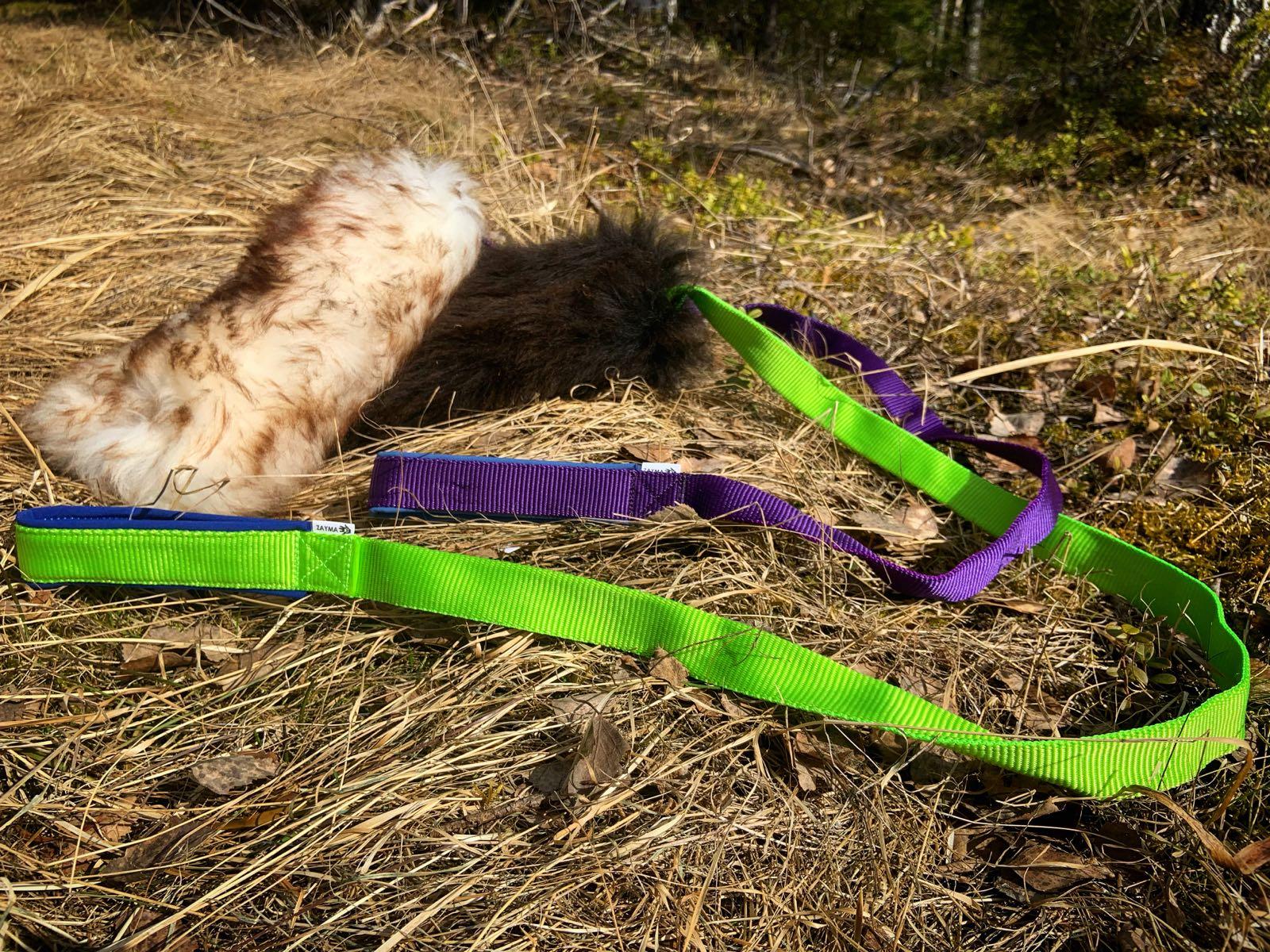 Zayman lampaankarvapatukka pitkällä saalisliinalla