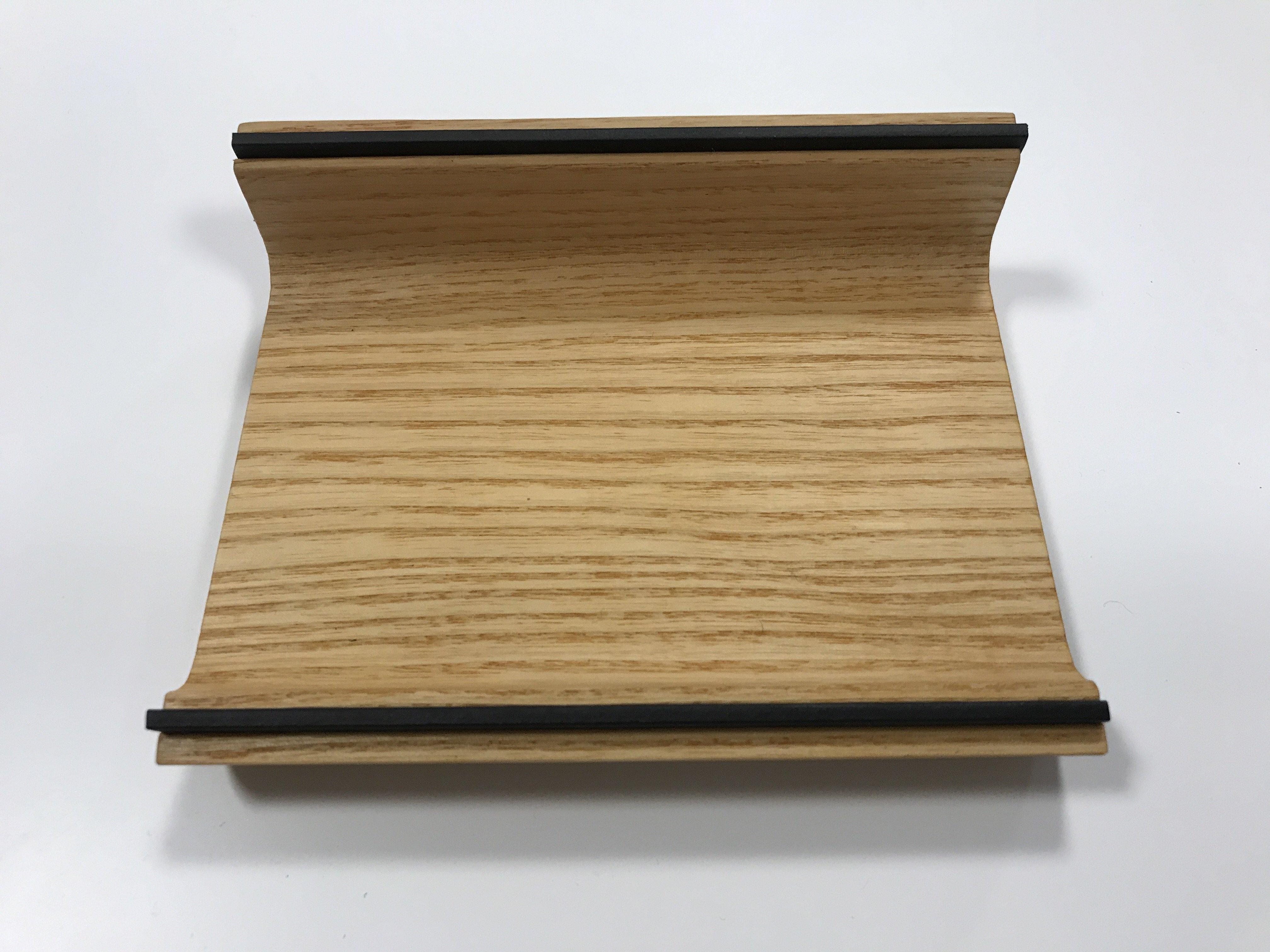 Holzschale für Stifte/TabletPC Esche