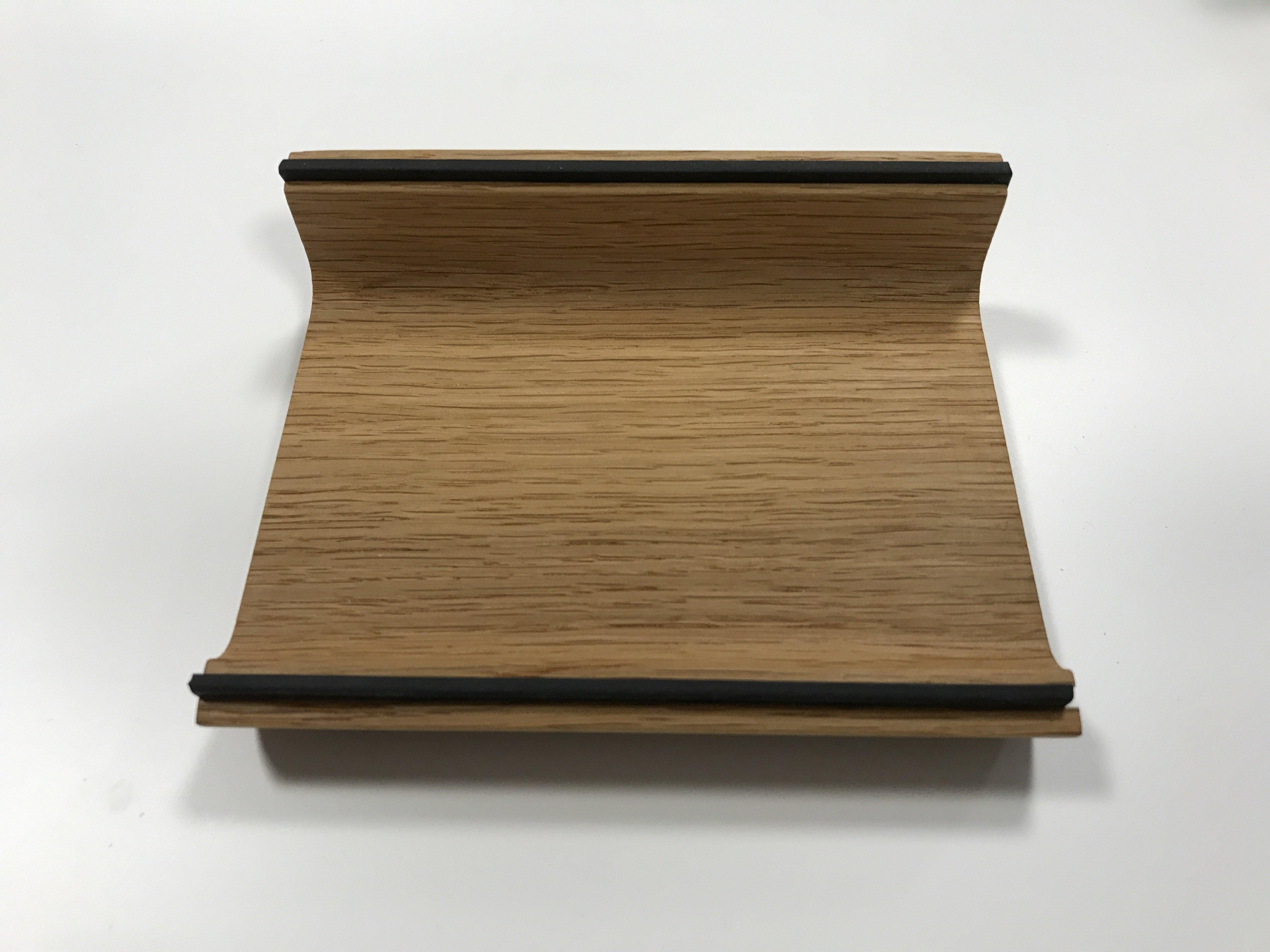 Holzschale für Stifte/TabletPC EICHE