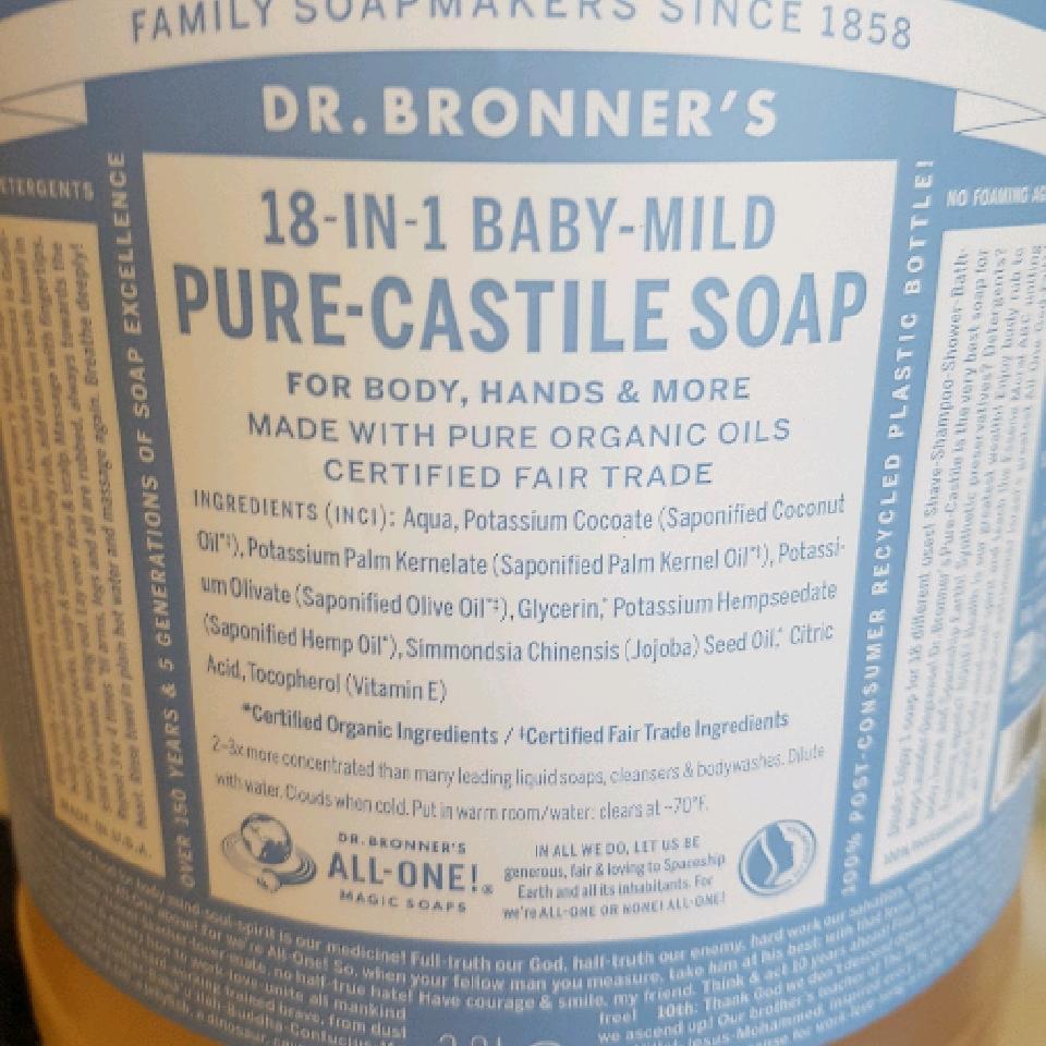 Castile Soap - per 100g