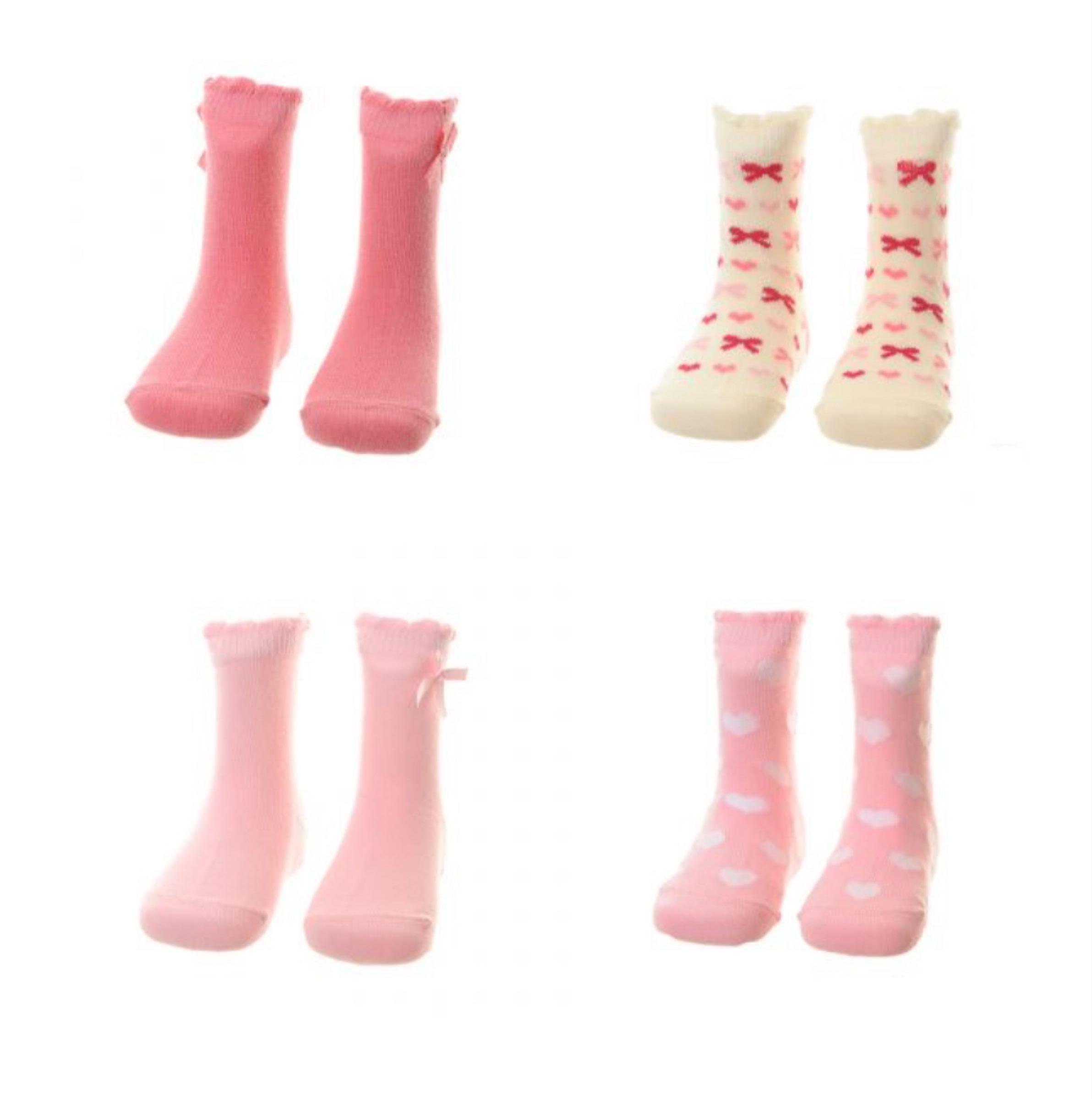 Hearts and Bows sock set
