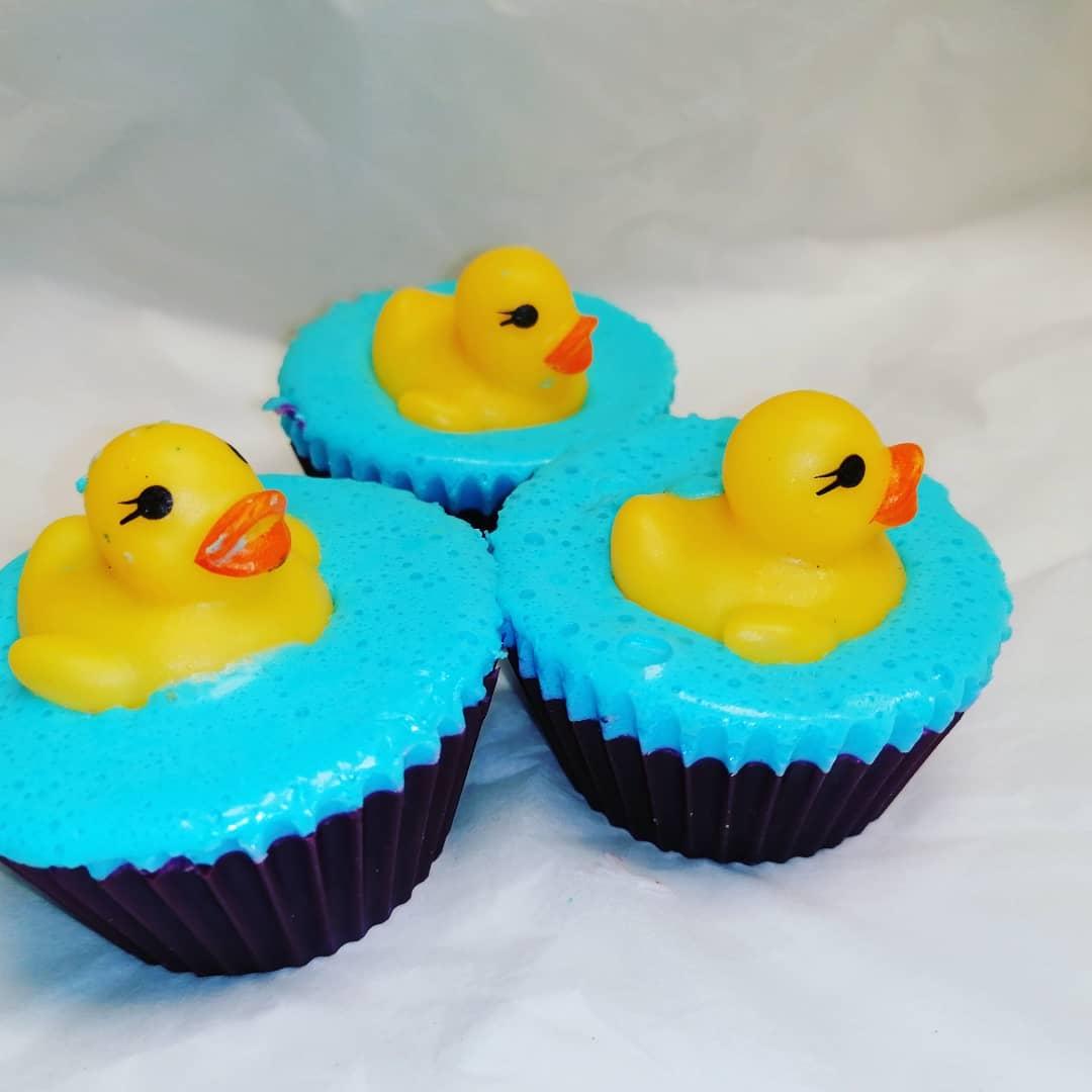 Duck Cupcake Soap