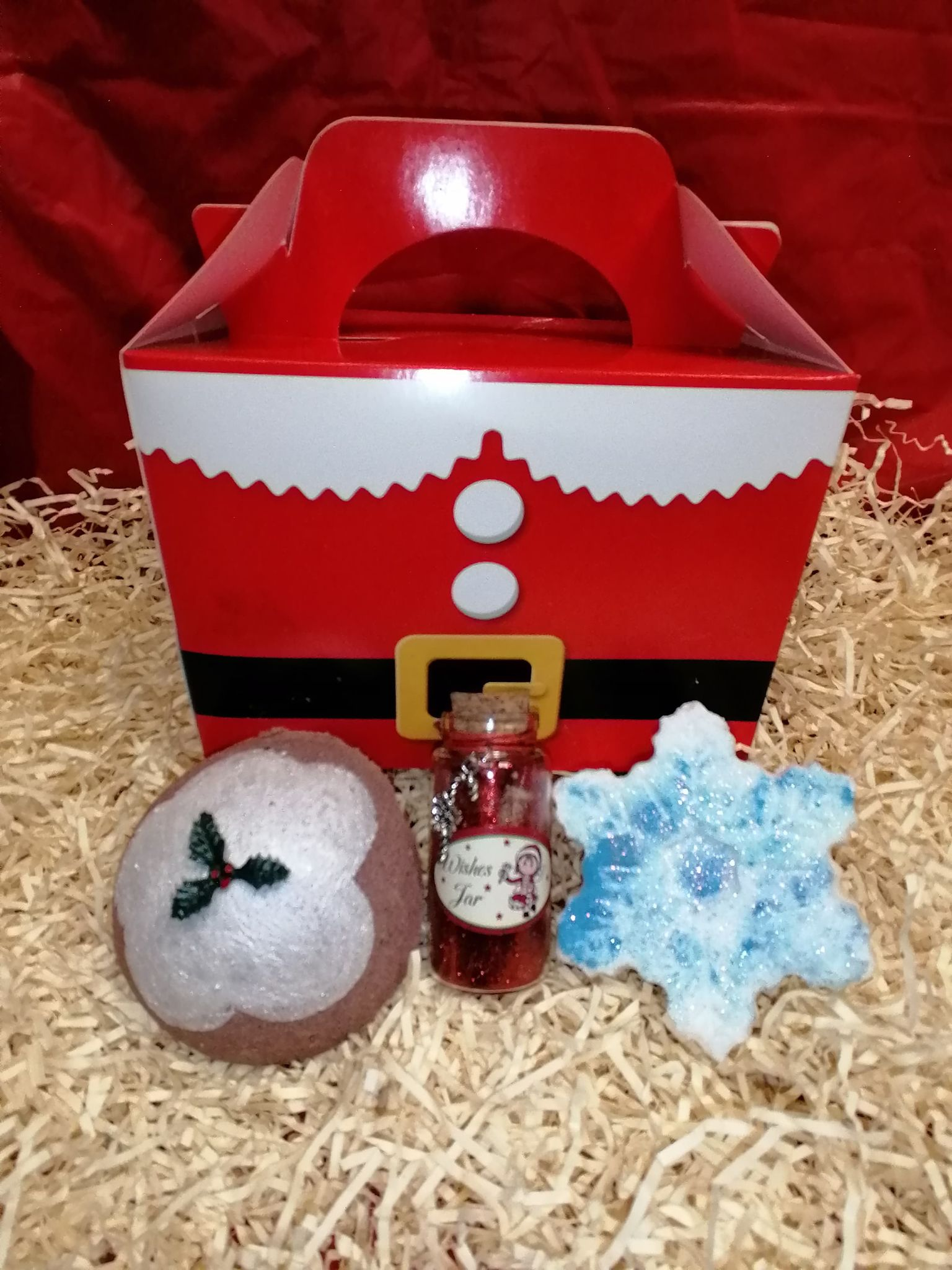 Christmas Eve Box With Toy And Glow In The Dark Snowflake
